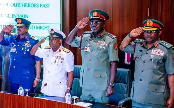 Buhari's past service chiefs