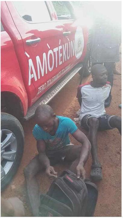 The herdsmen arrested in Ondo