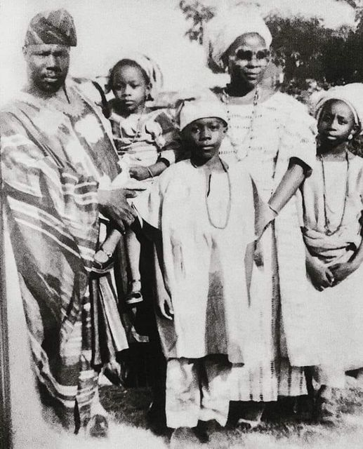 Obasanjo and his family in 1979