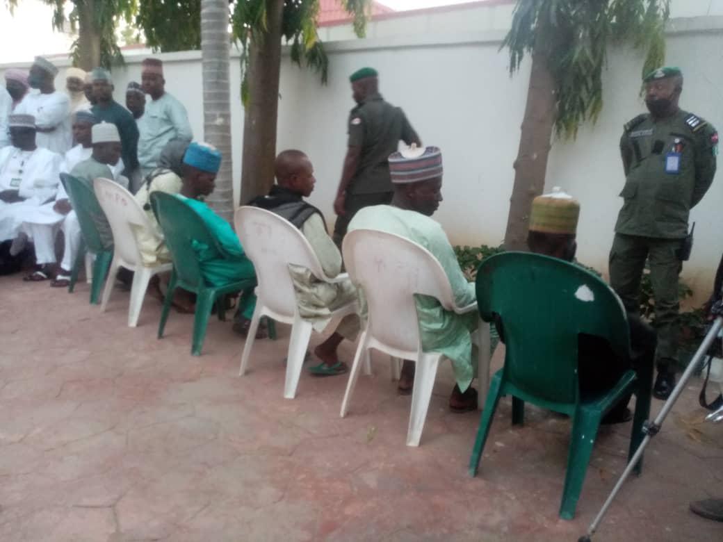 Bandits surrender weapons in Zamfara state