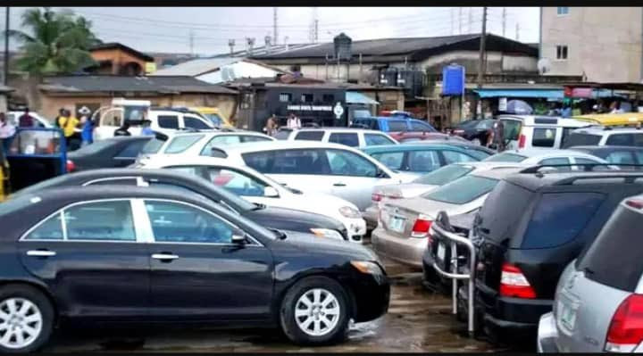 Lagos auctions seized cars