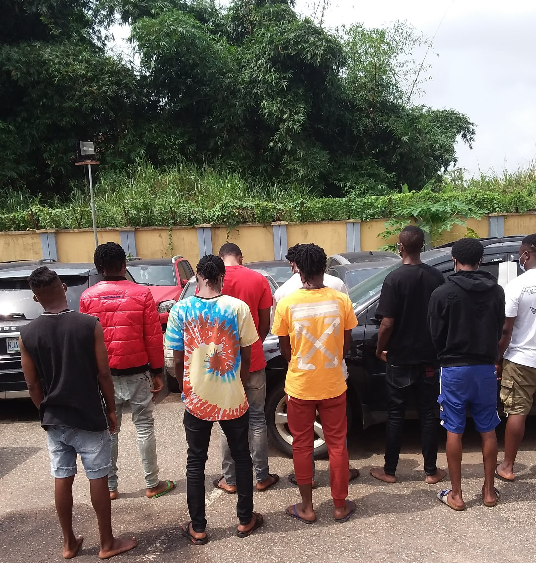 Yahoo boys arrested in Benin