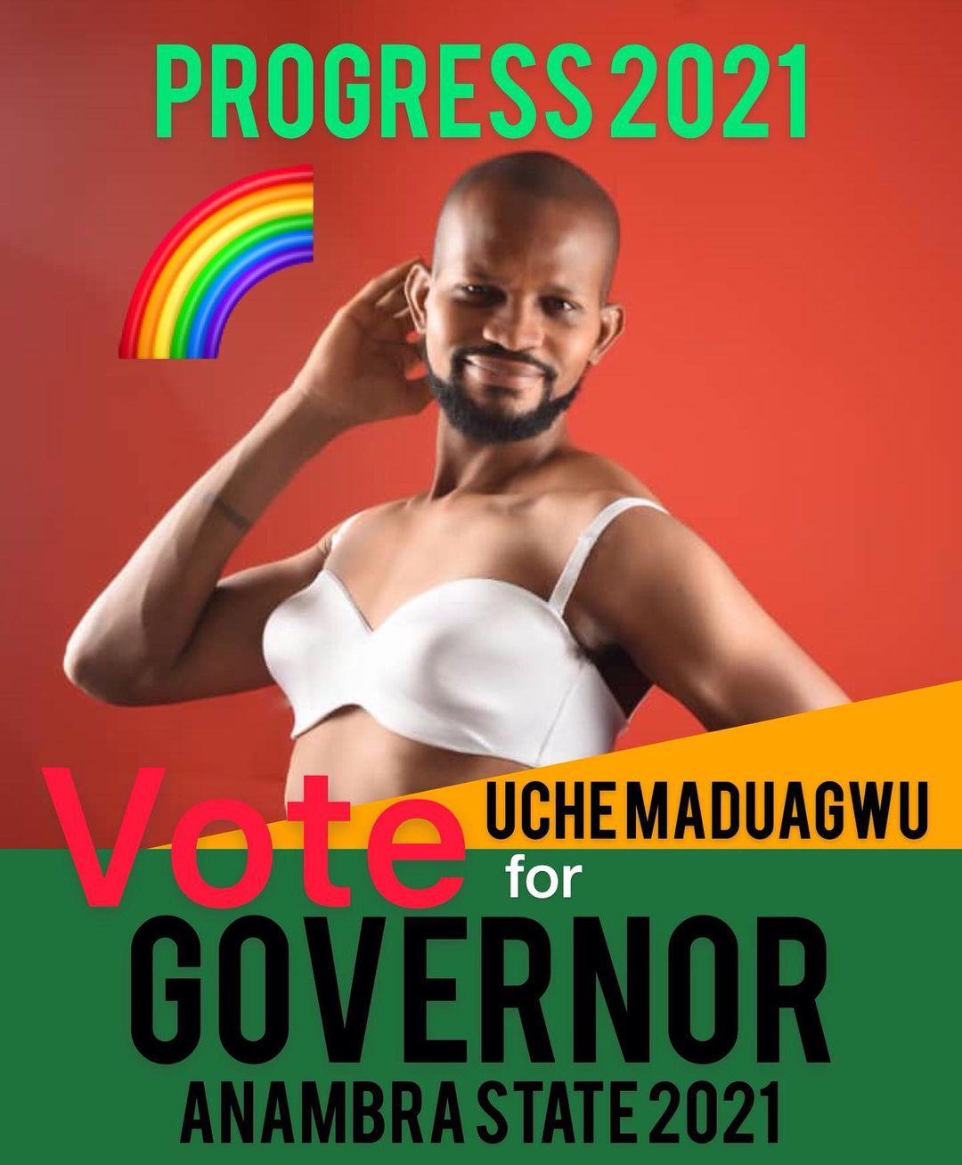 Uche Maduagwu for Governor