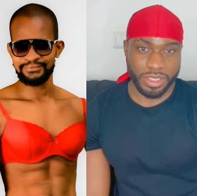 Uche Maduagwu and Bolu