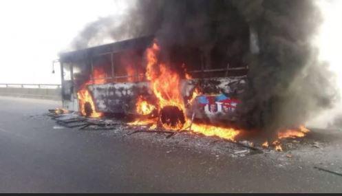 Burning BRT