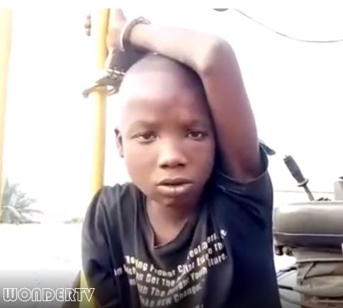 10-year-old robber