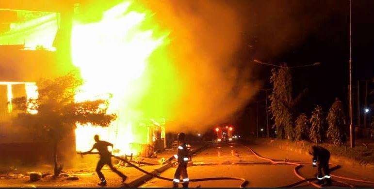 Bauchi mall fire