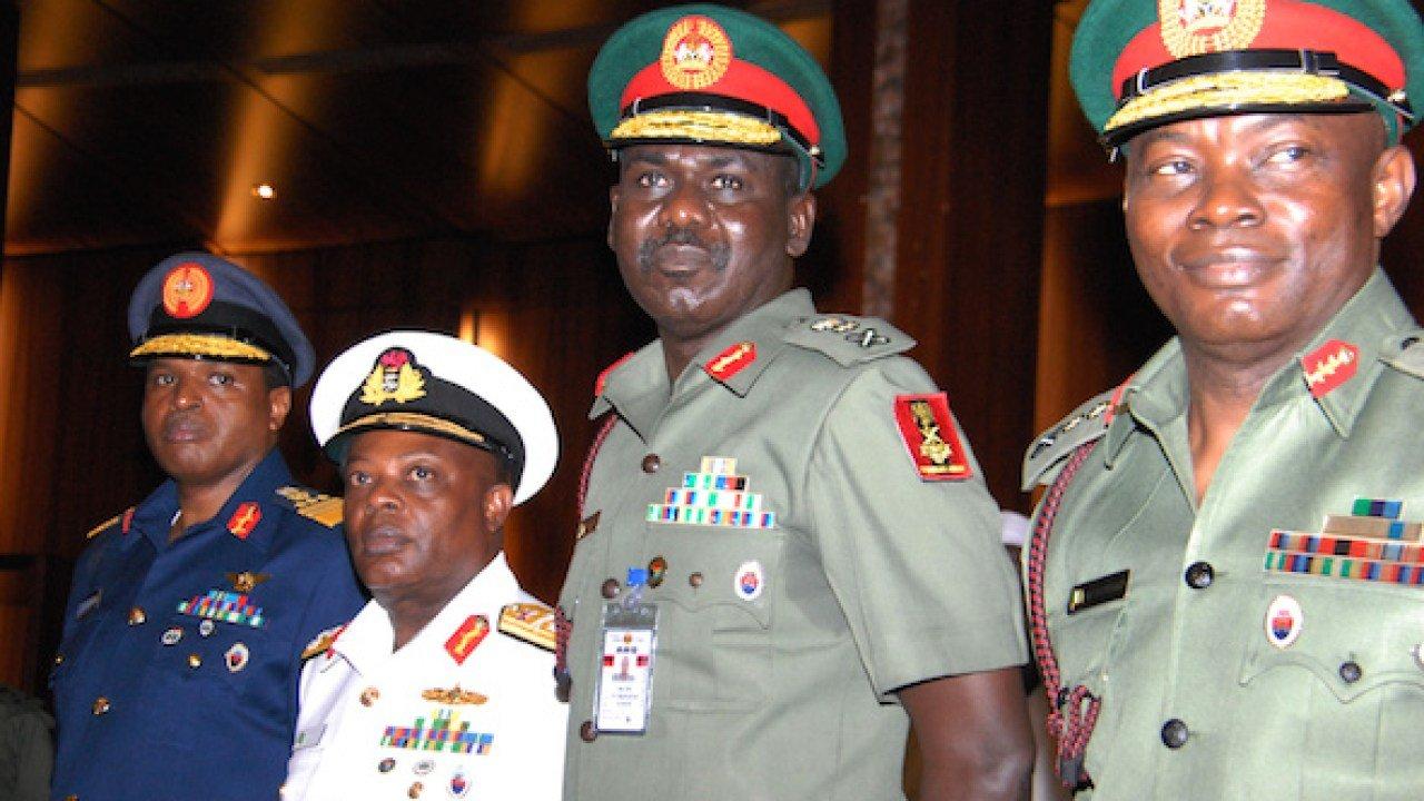 Ex-service chiefs