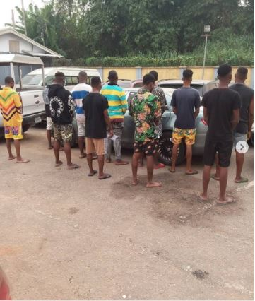 Fraudsters arrested in Auchi