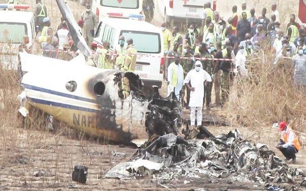 NAF Plane Crash