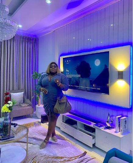 Badmus shows off the inside of her beautiful home