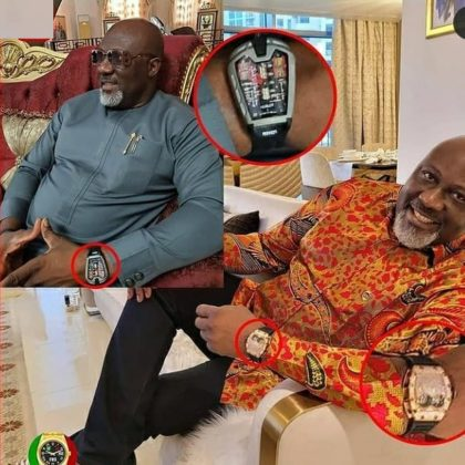 Dino exposed for flaunting fake watch