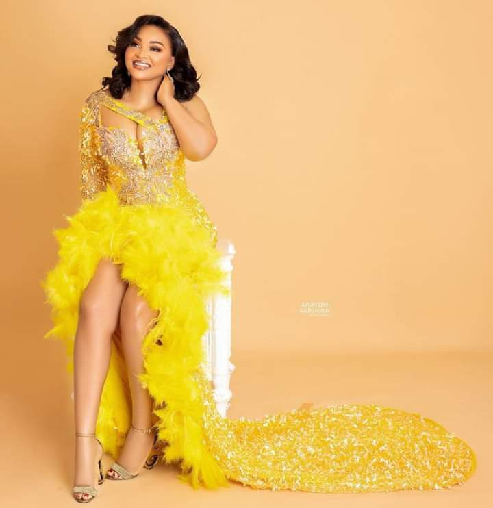 Mercy Aigbe's 43rd birthday photo