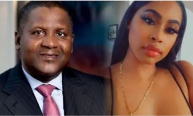 Aliko Dangote and his alleged second American sidechic