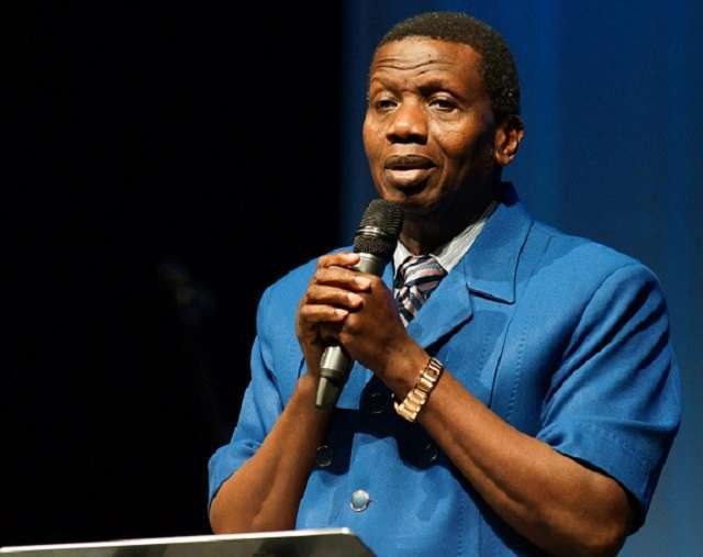 General Overseer of the Redeemed Christian Church of God (RCCG), Pastor Enoch Adeboye