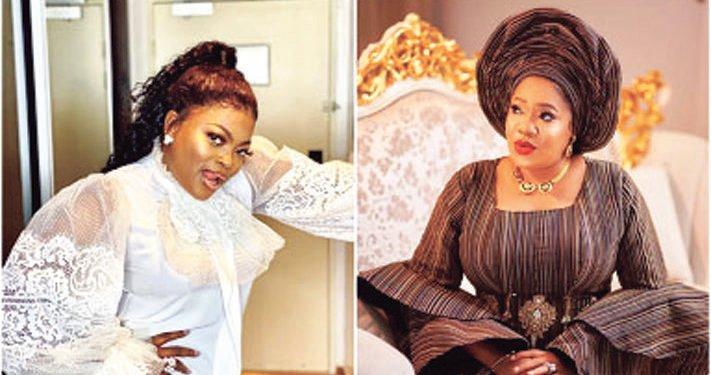 Funke Akindele and Toyin Abraham