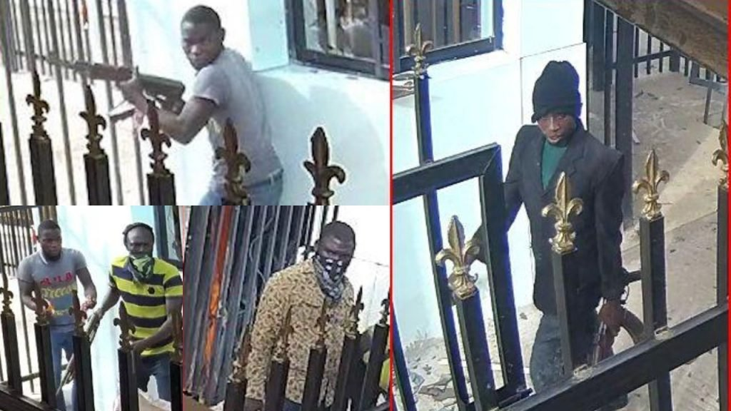 Offa bank robbery