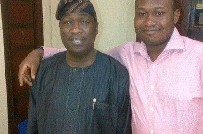 Lagos deputy governor, Hamzat and late younger brother
