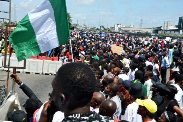 Lekki tollgate protesters