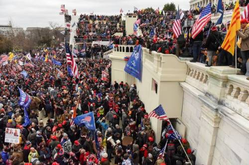 Trump supporters invaded capitol building on Wednesday