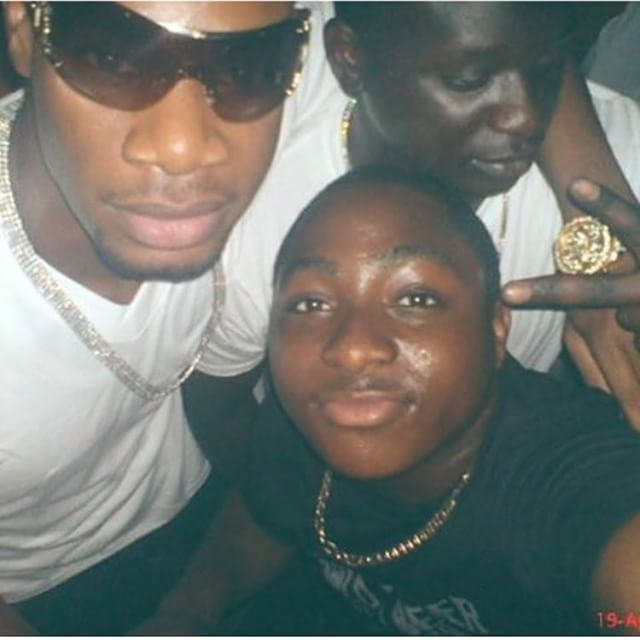 Davido revealed he squatted with Mo Hits