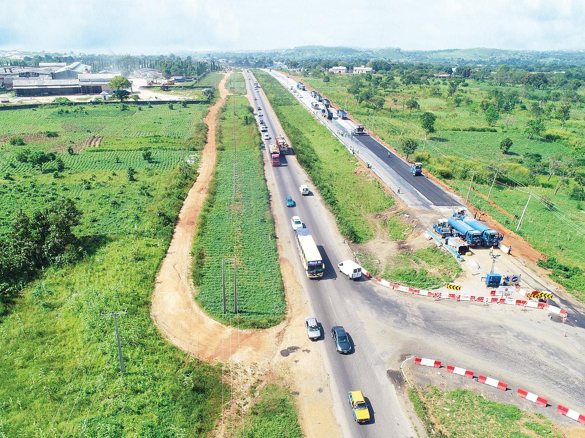 Abuja-Kaduna-Kano road project