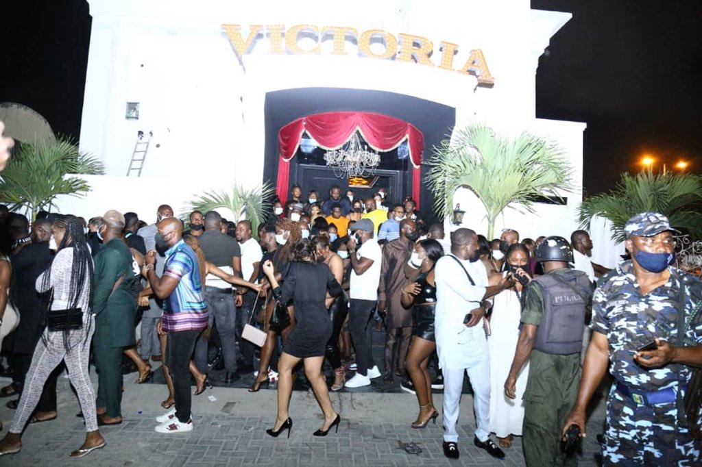 Lagos club raid