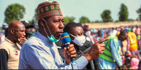 Governor Zulum Makes Startling Claim, Says There Are White Men, Asians Others Among Boko Haram
