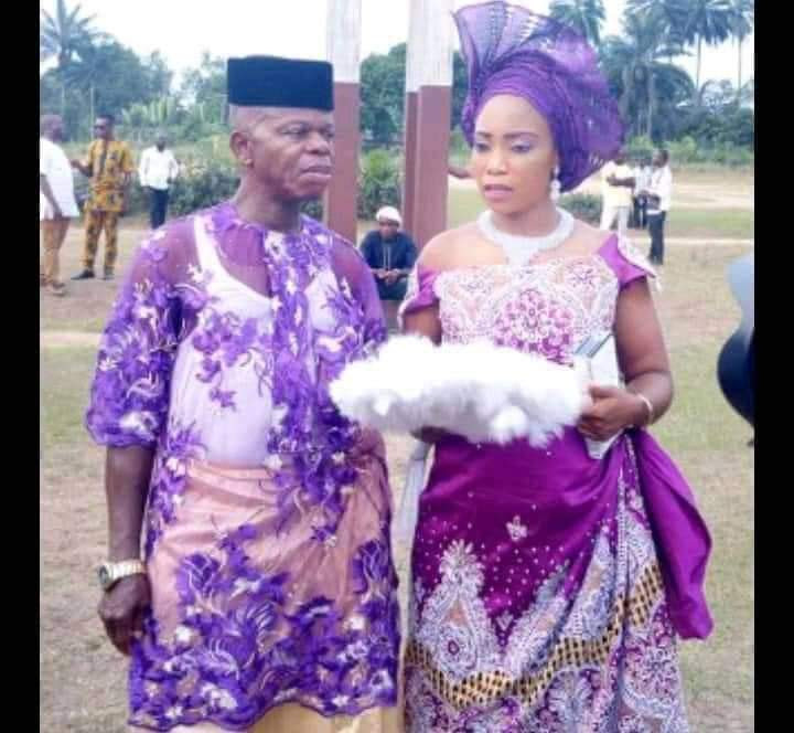 Lady marries old man