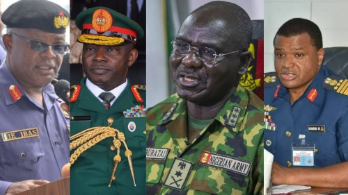 Nigeria's military chiefs to get juicy retirement package