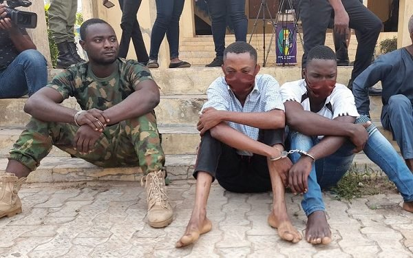 Soldier and police arrested for armed robbery in Ondo state