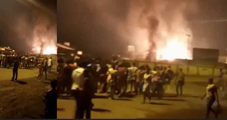 Rivers gas explosion