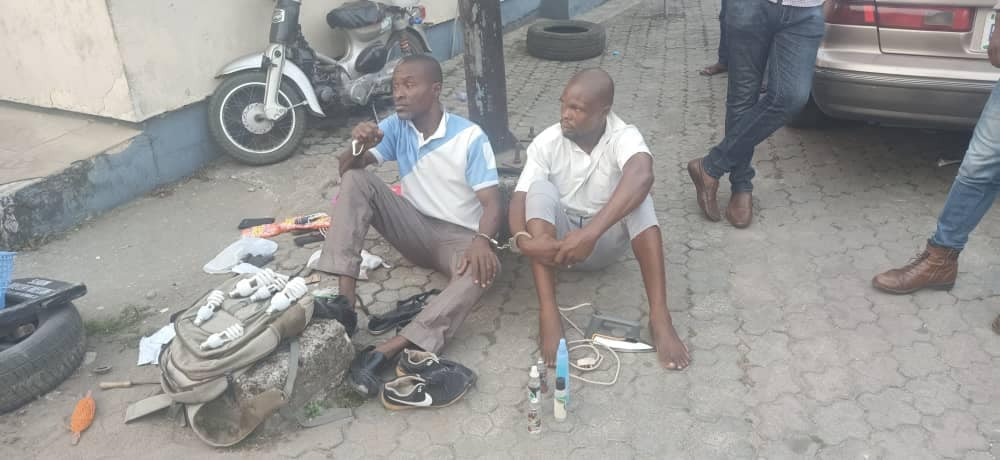 Two Men Hired For Hostel Renovation In UNICAL Nabbed After Stealing Students' Belongings