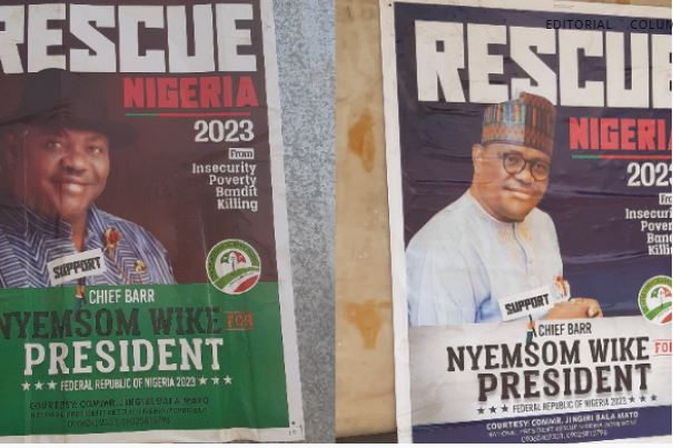Wike' presidential poster surfaces