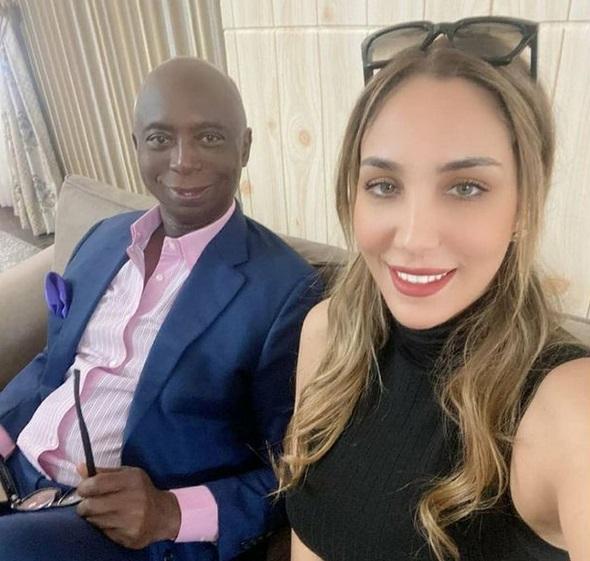 Laila and Ned Nwoko