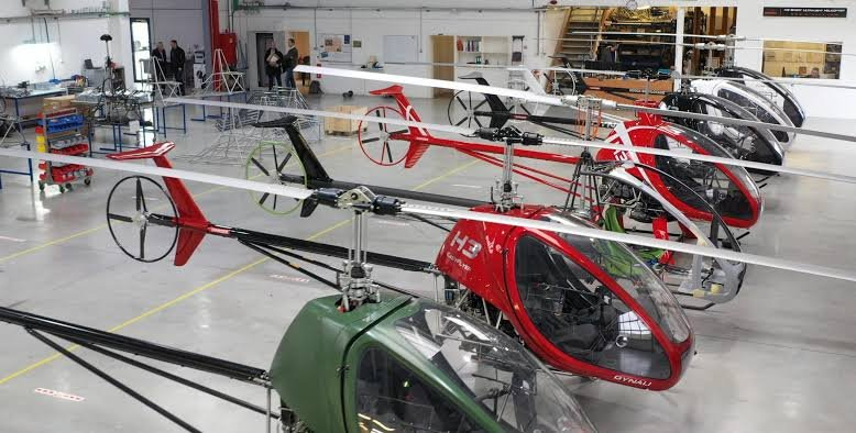 The made in Nigeria helicopters