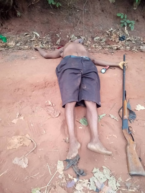 The man killed his wife and son in Anambra state