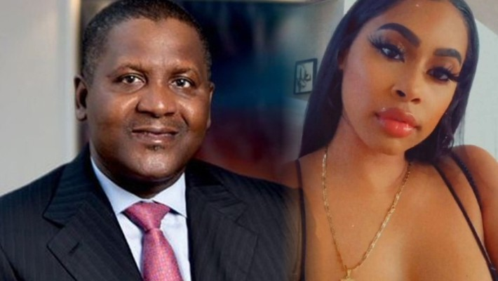 Dangote and his American mistress