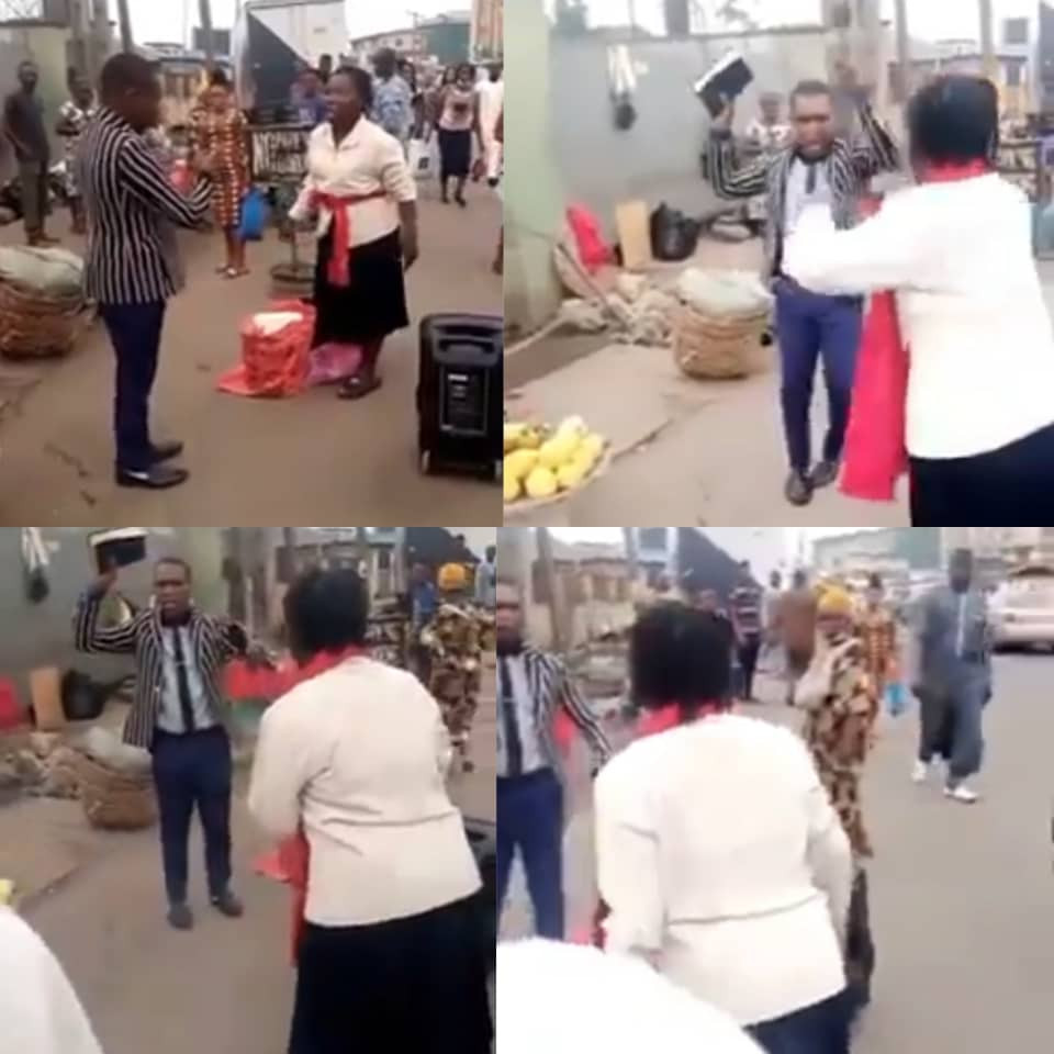 Preachers fight over preaching spot in Lagos