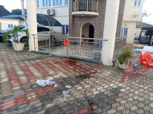 Igboho's house attacked
