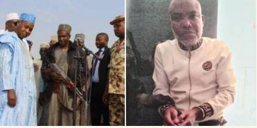 Treatment given to bandits and Nnamdi Kanu
