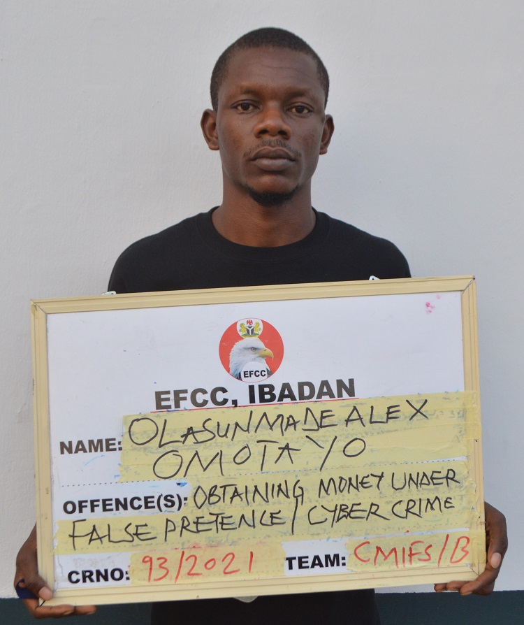 One of the yahoo boys convicted