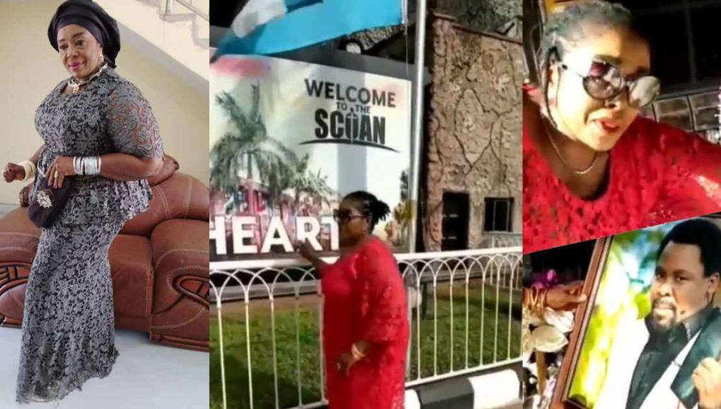 Rita Edochie pays last respect to Prophet TB Joshua
