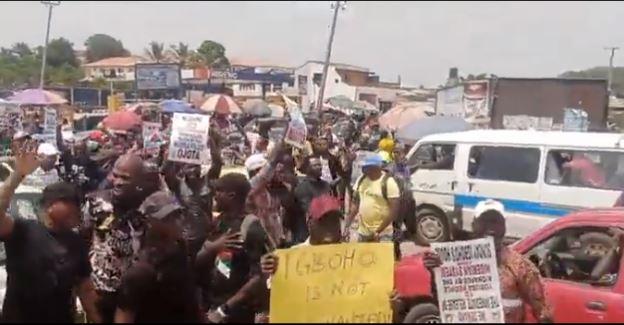 Igboho protesters