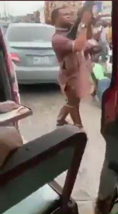 the gun-wielding man on mufti