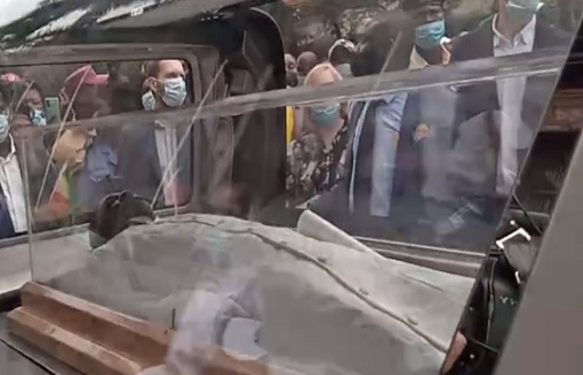 TB Joshua finally buried in Lagos