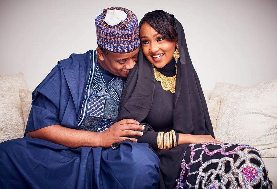 Zahra and husband