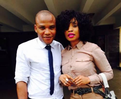 Kanu and wife, Uchechi Okwu-Kanu