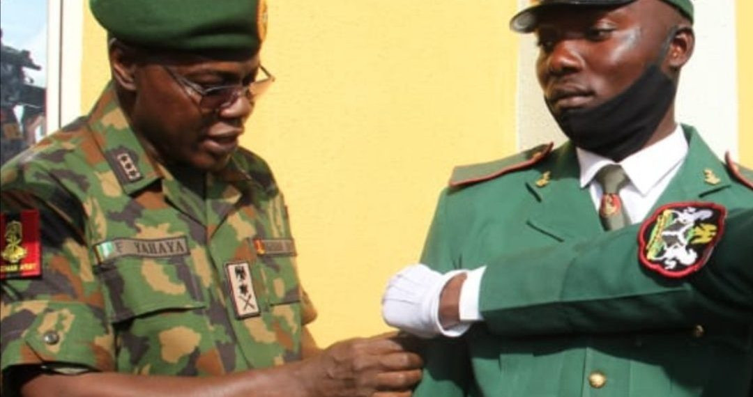 Jamilu promoted by the Chief of Army Staff