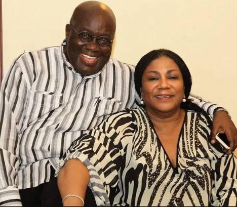Nana Akufo and wife, Rebecca